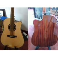 China Luxurious Whole Solid Wood Acoustic Guitar small Vintage Guitar TP-AG80 wholesale