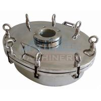 China Good Quality Sanitary Stainless Steel Manhole Cover SS316L Sanitary Manhole Cover wholesale