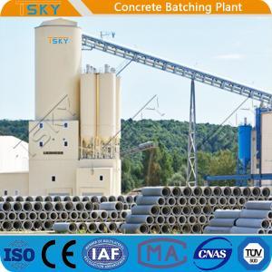 China 4.0m Discharging Compact HLS240 Precast Batch Plant wholesale