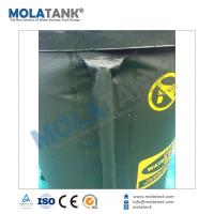 China mola water tank Open Top Storage Portable PVC Water Tank / Frame Type Water Bladder on sale