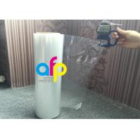 China 19 Mic / 21 Mic Polyolefin Shrink Film 200 - 1600mm Roll Widht Smooth Texture wholesale