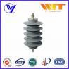 China Lightning Protection Equipment Polymeric Metal Oxide Surge Arrester 10KA , 24KV wholesale