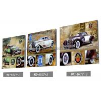 PET Plastic Printing Service / 3D Lenticular Pictures 40x40cm Home Decoration