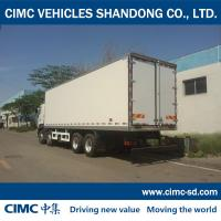 China CIMC KOGEL 8*4 HINO CHASSIS refrigerated and insulated truck van body HINO box truck wholesale