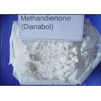 Buy cheap Methandienone Dianabol Raw Hormone Powders / Raw Oral Steroids Powder ISO90001 from wholesalers
