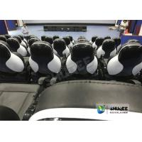 Quality Exciting 5D Cinema Equipment , 5D Luxury Motion Seats With Vibration Effect In for sale