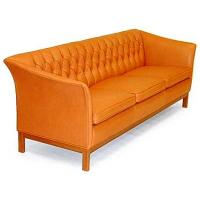 China American Style Button Tufted Leisure Hotel Furniture Sleeper Sofa Wooden Frame wholesale