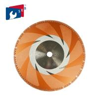 China Rim Rescue Diamond Blade 14 Metal Cutting Segmented With Side Coating on sale