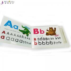 China Matt Lamination Paper Printing Services Toddler Hardcover Board Book wholesale