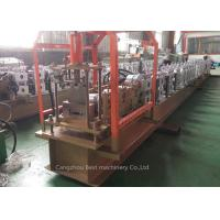 China Galvanized Steel / Shutter Door Profile Roll Forming Machine 2 Year Warranty wholesale