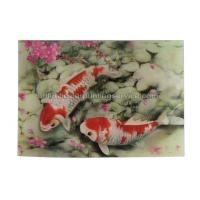 Quality Small Size Custom Design 3D Lenticular Card For Advertisement for sale