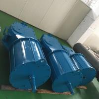 China Spring Return Heavy Duty Actuator , Single Acting Pneumatic Rotary Vane Actuator wholesale