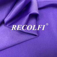 China Sweatsuits Brilliant Purple Recycled Lycra Fabric Good Moisture Wicking Performance wholesale