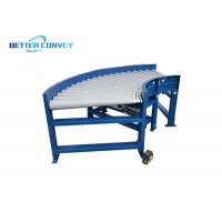 China Stainless Steel Motorized Flexible Roller Conveyor wholesale