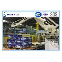 Chaint Palletizing Robot Arm Intelligent System With Wooden Box Package