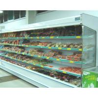 China Commercial Upright Display Fridge , Remote Multi deck Chiller 10m Length wholesale
