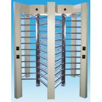 Quality Indoor & outdoor full height turnstile with access card reader for time for sale