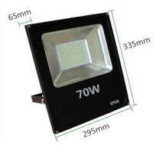 China 70W flood light led outdoor lighting IP66 warm white high lumen slim aluminum housing wholesale