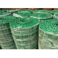China Green PVC Coated Welded Wire Mesh Panels / Plain Weave Mesh For Railings wholesale