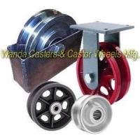 China V Groove Caster Wheels on sale
