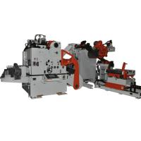 China Heavy Duty Material Frame 3 In 1 Feeder For Coil Unwinding , Automatic Feeding Line wholesale