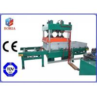 China Four Cavities Vulcanizing Machine Electric Heating For Rubber Tile wholesale
