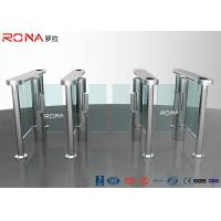 China Electronic Waist Height Turnstiles Rfid Security Gate Barrier Space Saving Servo Morto wholesale