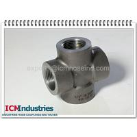 China 3000 lbs carbon steel pipe fittings cross wholesale