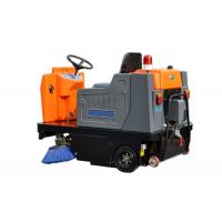China High Efficiency Electric Ride On Floor Sweeper Street Road Cleaning Machines wholesale