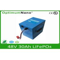China 48V 30AH LiFePo4 Motorcycle Battery,Lithium Motorcycle Batteries wholesale
