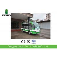 China Battery Operated 4 Wheel Electric Shuttle Bus 48V Motor For Public Area Transportation on sale