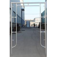 China Factory Supplying Q235 Pre-Galvanized Door Type of Frame Scaffold for Building Project wholesale