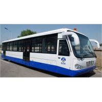 Quality Airport Diesel Engine Low Floor Buses With PPG Polyurethane Finishing for sale