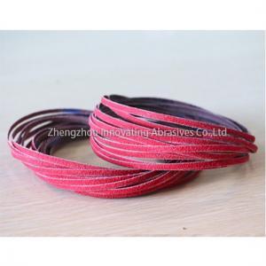 China 20*520mm, P60 Ceramic, Zirconia & Silicon Carbide Abrasive Sanding Belts wholesale