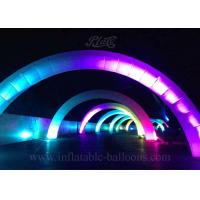 China 8m Advertising Inflatable Arch LED Air Arch Attractive For Event Decoration wholesale