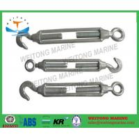China Hot Dip Galvanized Hook Eye Turnbuckle Free Forged For Adjusting The Tension on sale