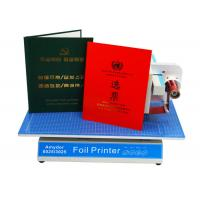 China AMD-8025 Custom Hot Foil Machine Foil Label Printer Machine For Book Covers / Dated Items on sale