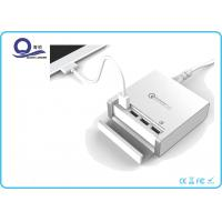 China 40W QC3.0 Multiple USB Charging Station Smart USB Charger with 4-Port for Quick Charge wholesale