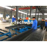 China CT-600 Ladder Type Perforated Cable Tray Roll Forming Machine, Cable Tray Production Line wholesale