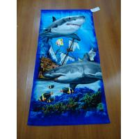 China 100% Cotton Full Reactive Printing Velour Beach Towels wholesale