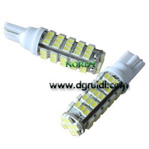 China Led Signal Lighting T10 68SMD3020  higt power led signal lamp wholesale