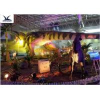 China Indoor Shopping Mall Realistic Dinosaur Statues Decoration Full Size Animal Models wholesale