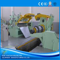 China PLC Control Steel Slitting Machine First Garde 25 Strips Blue Colour CE wholesale