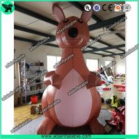 China 2m Inflatable Kangaroo, Advertising Giant Inflatable Animal wholesale