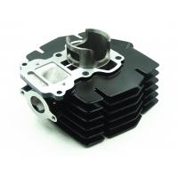 China Black Color Durable Aluminum Cylinder Block For Motorcycle Spare Parts wholesale