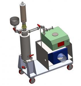 China Removable 20khz 2000 watt ultrasonic probe , Sonochemistry equipment with circulation reactor wholesale