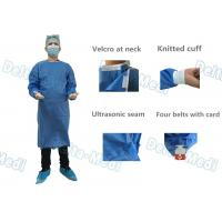 Buy cheap SMMS Disposable Surgical Gown , Fluid Blood Impermeable With Hand Towels For from wholesalers