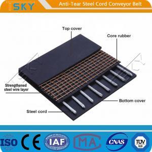 China Anti-Tear Steel Cord Conveyor Belt Tear Resistant Conveyor Belt wholesale