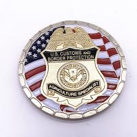 China Different Styles Military Challenge Coins / 3D Logo Gold Metal Coins wholesale