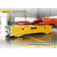 China Metallurgy Industry Battery Operated Platform Trolley Buffer With Alarm Light wholesale